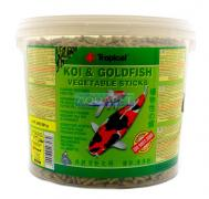 RA��O PARA PEIXE KOI&GOLDFISH VEGETABLE STICKS 1,8KG TROPICAL