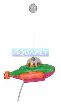 Enfeite Para Aquário Aqua Sub Litwin