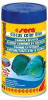 Ração Sera Discus Color Blue 48g Realça A Cor Azul do Peixe