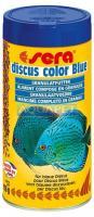 Ração Sera Discus Color Blue 116g Realça A Cor Azul do Peixe