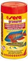 Ração Alimento Peixes Aquario Sera Granured Ciclideos 135gr