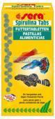 Sera Spirulina Tabs 14g 24 Pastilhas Para Peixes De Aquário