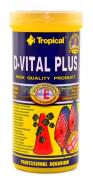 RA��O PARA PEIXE D-VITAL PLUS 110G TROPICAL