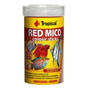 RACAO PARA PEIXE RED MICO COLOUR STICKS 32G TROPICAL
