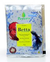 Ração Para Peixe Betta Premium 4g Sache Poytara