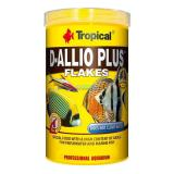 Ração D-allio Plus Flakes 100g Tropical Para Discus