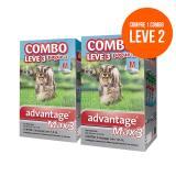 Antipulgas Compre 1 Leve 2 Combos Advantage Max 3 - 1,0ml Ate 10kg Validade 08/17
