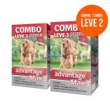 Antipulgas Compre 1 Leve 2 Combos  Advantage Max 3 - 2,5ml Ate 25kg Validade 11/17