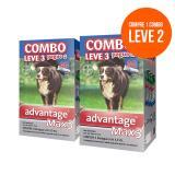 Antipulgas Compre 1 Leve 2 Advantage Max 3 4,0ml Acima 25kg