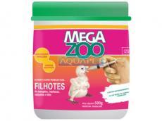 MEGAZOO PAPA P/FILHOTES DE AVES 500G