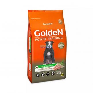 RA��O GOLDEN POWER TRAINING ADULTO 15KG PREMIER