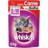 Whiskas Sachê Pratos Favoritos Carne 85g