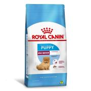 RA��O MINI INDOOR JUNIOR 7,5KG ROYAL CANIN