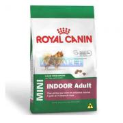 RA��O MINI INDOOR ADULTO 3KG ROYAL CANIN
