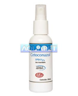 CETOCONAZOL SPRAY 2&37; 100ML  IBASA