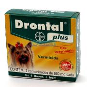 DRONTAL PLUS 10KG C/2  BAYER