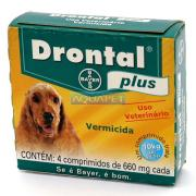 DRONTAL PLUS 10KG C/4  BAYER