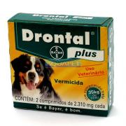 DRONTAL PLUS 35 KG C/2  BAYER