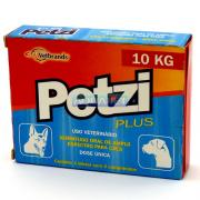 PETZI PLUS 800MG C/4 COMP. (ATE 10KG) CEVA