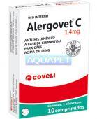 ALERGOVET C 1,4MG 10COMP COVELI