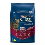 Ração Cat Chow Adulto Carne 10,1 Kg - Purina