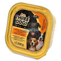 Hercosul Three Dogs Ad.frango 300g
