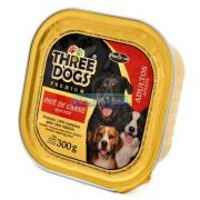 RA��O THREE DOGS AD.CARNE 300G HERCOSUL