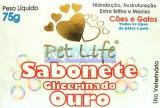 SABONETE OURO 75G PET LIFE