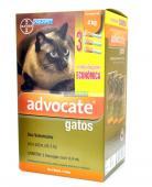 Antipulgas Advocate Gatos0,4ml(ate 4kg)combo c/3