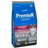 Ração Para Gato Premier Gato Castrado Frango +7anos - 7,5kg