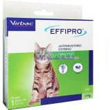 Antipulgas E Carrapatos Effipro Gatos 0,5 ml Virbac