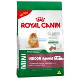 RAÇÃO MINI INDOOR 12+ AGEING 1KG ROYAL CANIN