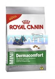 RA��O MINI ADULT DERMACOMFORT 3KG - ROYAL CANIN