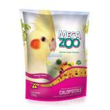 MEGAZOO CALOPSITA FRUTAS E LEGUMES 350G