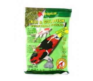 RAÇÃO PARA PEIXE KOI&GOLDFISH VEGETABLE STICKS 90G TROPICAL