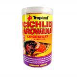 Ração Cichlid&arowana Large Sticks Tropical 75g 250ml