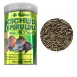 Ração Para Peixe Cichlid Spirulina Medium Sticks 1000ml 360g