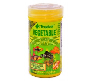 RAÇÃO PARA PEIXE VEGETABLE 150ML 25G TROPICAL
