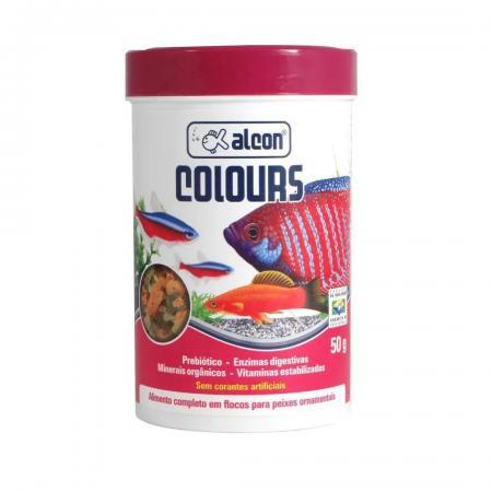 Ração Para Peixe Colours Alcon 50g