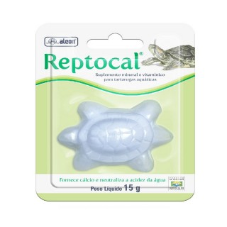 Suplemento Mineral Alcon Reptocal 15g
