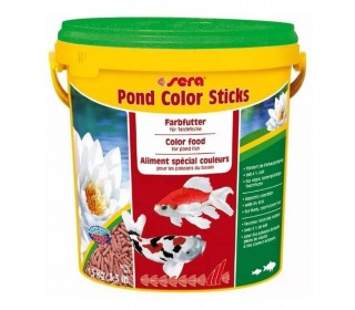 Sera Pond Color Sticks 1,5kg Ração P Realçar Cores De Carpas