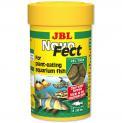 Ração Para Peixe Jbl Novofect 100ml 160 Tabletes