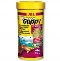 Ração Para Peixes Jbl Novo Guppy 50g - 250ml - Lebistes