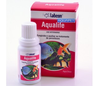 Labcon Aqualife 15ml Alcon Fungicida Anti Parasita Aquario