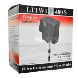 Filtro Externo Litwin 400s Para Aquários Até 80 Litros 110v