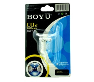Difusor Co2 Boyu serpentina de vidro Co-130