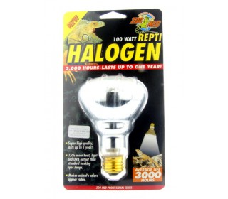 Zoomed Repti Halogen Heat Lamp (3000 Hours) Hb-100 110v