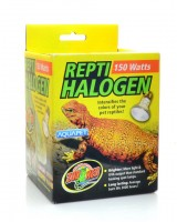 ZOOMED REPTI HALOGEN HEAT LAMP (3000 HOURS) HB-150 110V