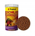 Ração p/ Peixe Cichlid Carnivore Medium Pellet 180g Tropical