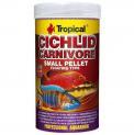 Ração Para Peixe Cichlid Carnivore Small Pellet 90g Tropical